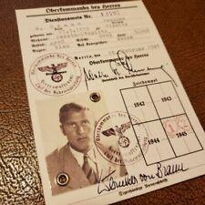 OKH Photo ID - father of German V2 & Saturn rocket (Apollo) - Wernher von Braun
