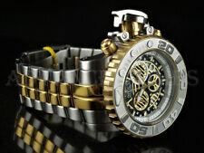 Invicta 70mm Sea Hunter GEN II Swiss Movt Chronograph Black Dial Two Tone Watch