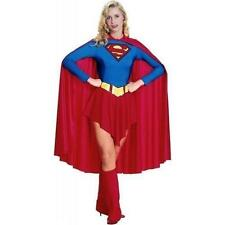 Adults Ladies Supergirl Superwoman Superhero Girl Women Costume