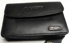 Kyocera Black Genuine Leather Compact Digital Camera Case (Int) 113 x 72 x 24mm