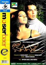 RAAZ - DINO MOREA, BIPASHA BASU - NEW MOSERBAER BOLLYWOOD DVD –ENGLISH SUBTITLES