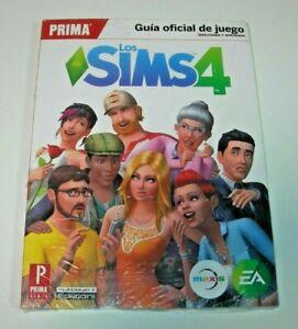 Guía oficial Los Sims 4 edición española precintada