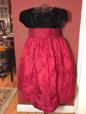 Cinderella Girls Sz. 3/3T Black Deep Red Christmas - Holiday - Portrait Dress