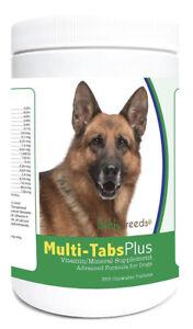 Healthy Breeds German Shepherd Multi-Tabs Plus Tablets 365 Ct, Exp 06/2022