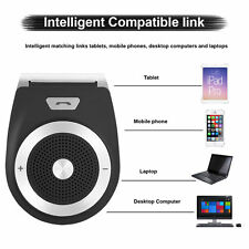 New Universal Bluetooth Car Kit Wireless Handsfree Speaker Phone Visor For Phone