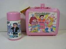CABBAGE PATCH KIDS - LUNCH BOX WITH THERMOS - NEW