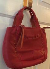 RADLEY LONDON Orange & Red Leather Shoulder Bag/Cross Body
