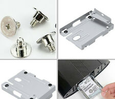 PS3 Super Slim Hard Disk Drive HDD Mounting Bracket Caddy For Sony + Screws XIUS