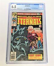 The Eternals #1 CGC 6.5 OW/WP 1976! 1st Appearance Eternals team 🔑