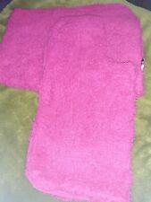 Pink bathroom mat set pink cerise used