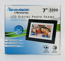 "Pandigital Panimage 7"" LED Digital Photo Frame PI7002AWB W/ Remote"