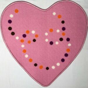 Lucky Christmas Heart Gift 2021 Room mat, Beautiful Item Pink 67x64 cm