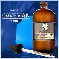CAVEMAN BEARD OIL, SANDALWOOD BEARD OIL RECIPE, BEARD CARE, BEARD BALM WAX OIL