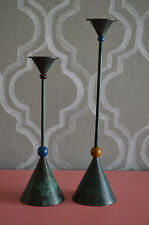 2 Vintage Milano Series Candle Sticks Home Decor Holidays Gift