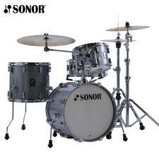Sonor AQ2 Series BOP Drum Set Shell Pack Titanium Quartz 18x14_14x13_12x8_14x6