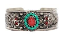 Jasper Bracelet Silver Bracelet Boho Bracelet Gypsy Bracelet Tribal Bracelet