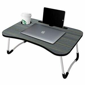 Laptop Bed Table Lap Standing Desk for Bed and Sofa Breakfast Bed Tray