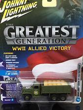 JLCP7068 Johnny Lightning 1/64 - 1/87 WW2 GMC  CCKW 2 1/2 Ton 6x6 Truck