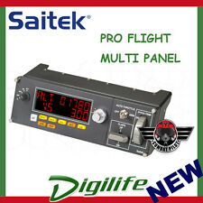Saitek PRO FLIGHT MULTI PANEL with LED Display PZ70
