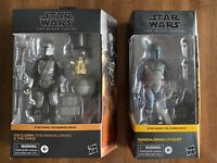 Star Wars Black Series Din Djarin and The Child & Mandalorian Loyalist Bundle Pk
