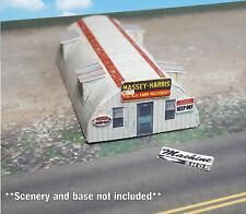 Z Scale Building - Quonset Hut **Pre-Cut** CARD STOCK (PAPER) Pre-Cut Kit #QH3Z