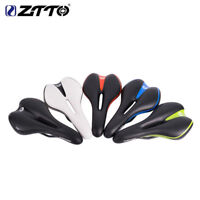 1PC MTB Road Bike Saddle PU Leather Hollow Soft Bicycle Saddle Seat 280*145mm
