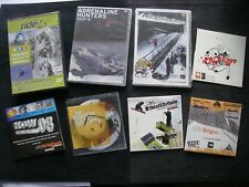 JobLot 8 Ski DVDs 2 Sealed RIDE FREESPORT 06  Adrenaline Hunters Winter Cocktail