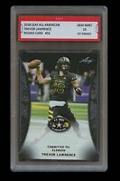 TREVOR LAWRENCE 2018 LEAF ARMY ALL-AMERICAN 1ST GRADED 10 ROOKIE CARD RC Clemson