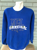 VTG Chalk Line Los Angeles Rams Embroidered XL Sweatshirt Made in USA