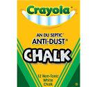 Crayola An-Du-Septic Anti-Dust Chalk Sticks 12 ct. 50-1402