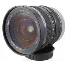 VIVITAR Series 1 S1 24-48mm f3.8 VMC KINO Canon FD camera lens NEX MFT BMPCC