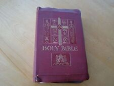 HOLY BIBLE PAPAL EDITION REV. JOHN O'CONNELL EDITOR 1954 ILLUSTRATED