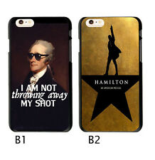 Hamilton Musical Soft TPU Case Cover For iphone X 6 6S 7 8 Plus 5S Samsung S7