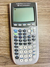 Texas Instruments TI-84 Plus Silver Edition Gray Graphing Calculator Only