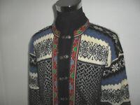 vintage Amico Sportswear Norweger Strickjacke Jacke hippie norway Wolljacke L