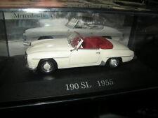 1:43 Ixo Mercedes-Benz 190 SL 1955 white/weiss VP