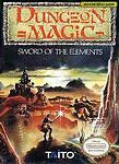 Dungeon Magic: Sword of the Elements (Nintendo Entertainment System, 1990)