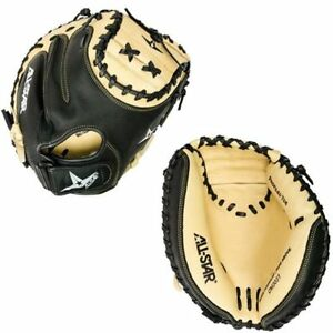 "All-Star 33.5"" Adult Baseball Catcher's Mitt - Throws Right & Left"