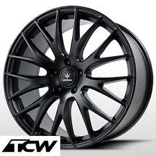 "(4) 18 inch 18x8"" Verde Saga Wheels V27B Satin Black Rims for Ford Mustang 05-14"
