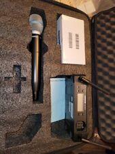 Shure GLXD4 Wireless Receiver w/Shure beta 87a mic in case
