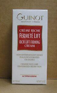 Guinot Creme Riche Fermete Lift / Rich Lifting Firming Cream - 50 ml / 1.6 Oz