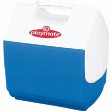 Igloo Personal Size Easy-To-Operate Summer Playmate Pal 7 Qt. Cooler, Blue