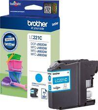 CARTOUCHE BROTHER CYAN LC221 / lc221c bleu seau pelle pour DCP-J562dw mfc-j480dw
