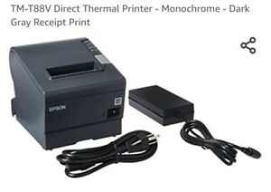 Epson TM-T88V Point of Sale Thermal Receipt Printer NEVER USED FREE SHIPPING!!!