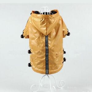Dog Raincoat Clothes Waterproof Protective Puppy Outdoor Jacket Pet Puppy Travel