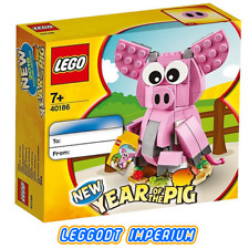 LEGO Chinese New Year - Pig - Sealed 40186 FREE POST