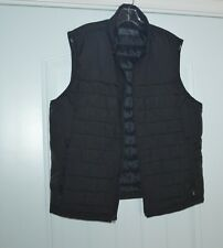 ABERCROMBIE & FITCH Men's Light Weight Puffer Vest Size XL Black primaloft