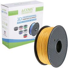 ACENIX® Gold PLA 3D Printer Filament 1.75mm 1KG Spool Filament For 3D Printers