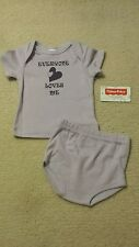 Baby Girl Size 3-6 Months Two Piece Fisherprice Outfit NWT