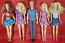 Barbie Ken & Friends Mattel Fashionista & Life In The Dream House Doll Bundle